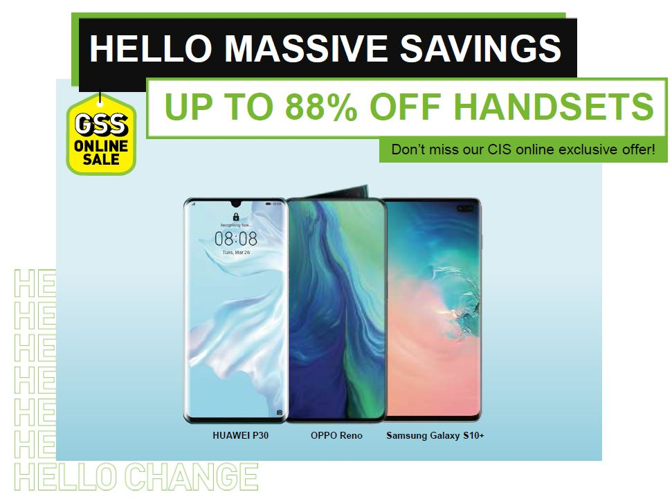 AUPE Portal - Get up to 88% off handsets with StarHub